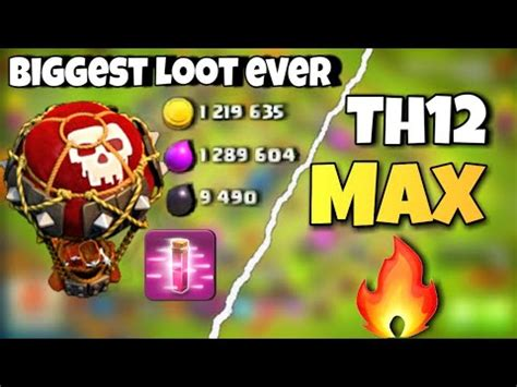 HIGHEST EVER LOOT with LOONS in Clash Of Clans || CHAMPION
