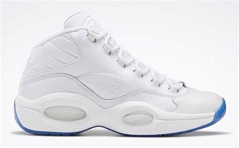 The Reebok Question Mid Gets A Clean White Makeover