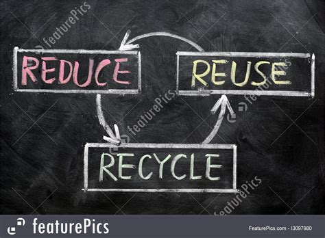 Environment Concept: Resource Conservation - Stock Image