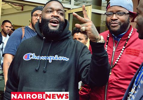 Rick Ross is here, but most Kenyans can't 'recognise' him