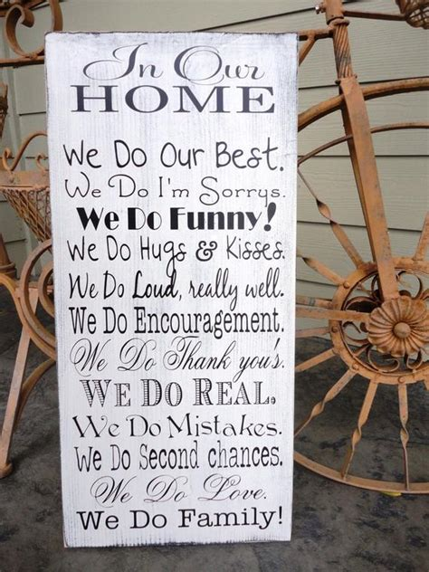 Items similar to We Do Sign, In Our Home, In this Home we