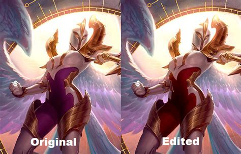 I edited the Kayle splash to give her back her red and