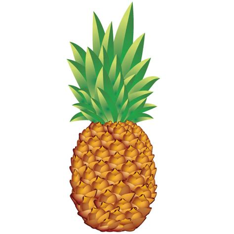 Pineapple vector art - Ai, Svg, Eps Vector Free Download