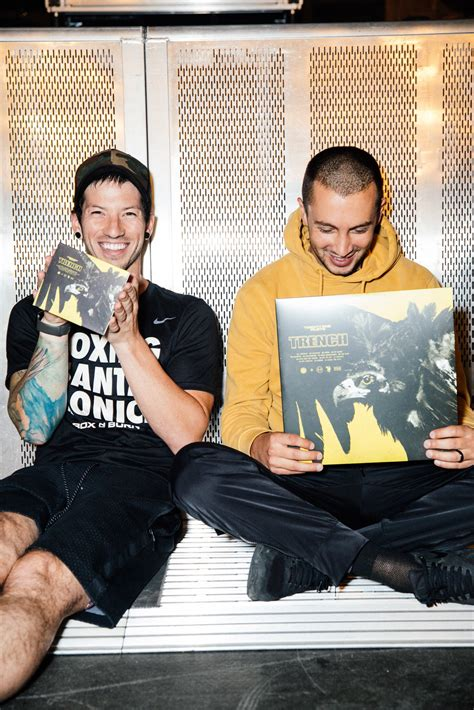 """twenty one pilots on Twitter: """"the new album Trench is now"""