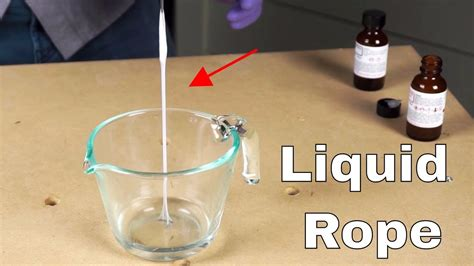 Making Spiderman's Web—The Liquid Rope Experiment with