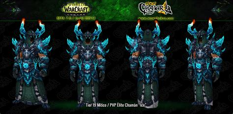 Anyone knows where to get the frozen looking Shaman tier