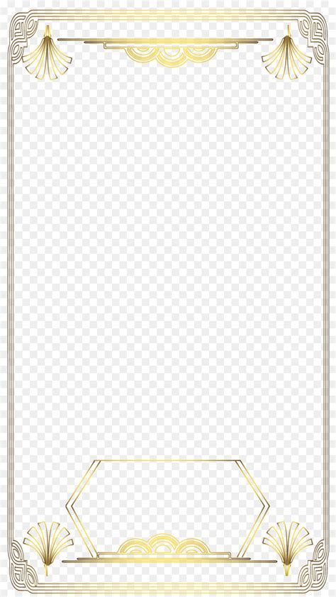 Photographic filter Snapchat - gatsby png download - 1080