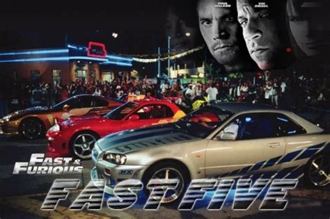 Fast And Furious: Fast Five Poster Released   Top Speed