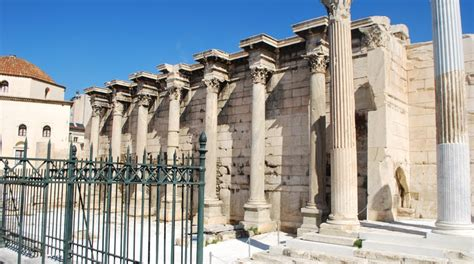 Hadrian's Library in Athens, Greece - Lonely Planet