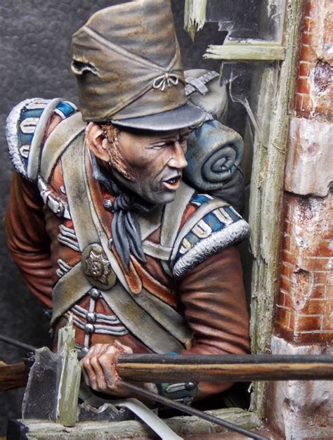 Coldstream Guard - Waterloo - 1815 by Brian Smith · Putty