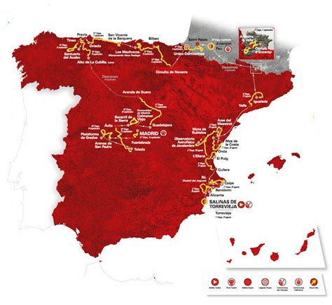 Vuelta 2019: The Route