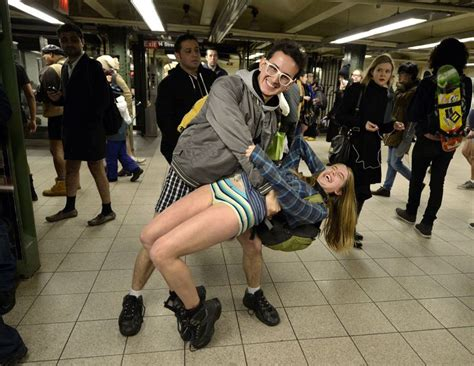 22 Photos From All Over The World Of The No Pants Subway