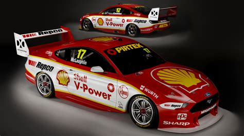 Supercars 2019   Mustang livery pictures, DJR Penske