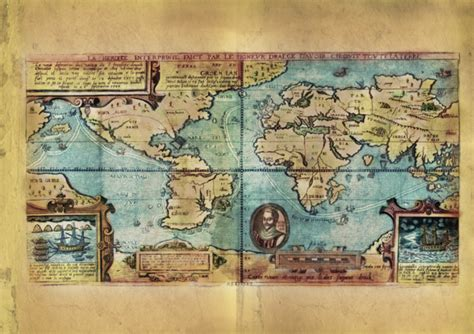 EDUCATIONAL MAP FEATURE : THE LOST MAP OF SIR FRANCIS