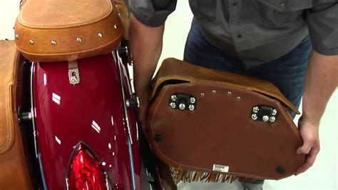 How to Remove and Replace Indian Chief Saddlebags - Indian