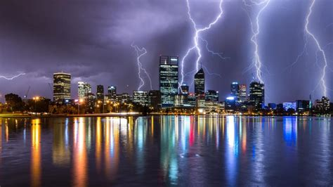 Perth weather: Thunderstorms and heavy rain expected after