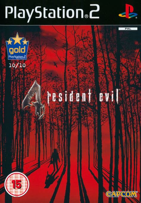 Resident Evil 4 (2005) PlayStation 2 box cover art - MobyGames