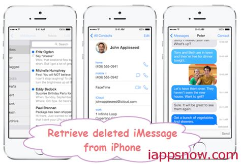 Quickly Recover Deleted text iMessages on iPhone 5 with