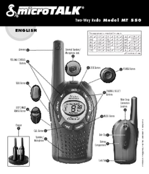 """Two-Way Radio - Users Guides """"Two-Way Radio""""   Page 10"""