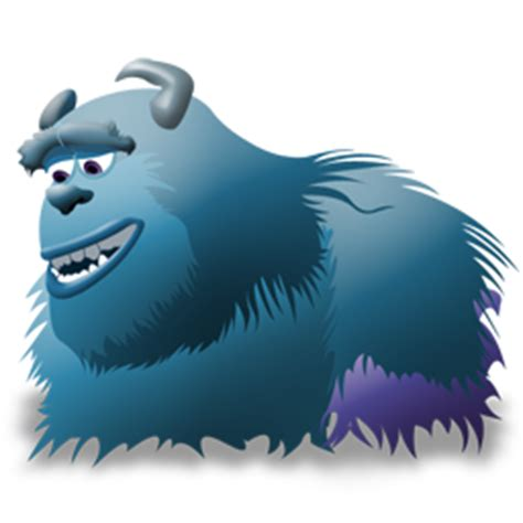 Sulley Icon   Monsters Inc Iconset   Iconshock