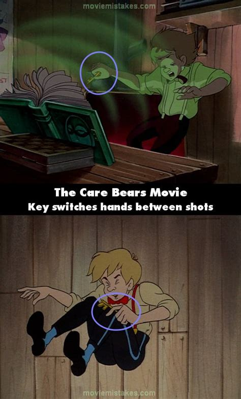 The Care Bears Movie (1985) movie mistake picture (ID 157896)