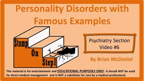 Personality Disorder Types: Borderline, Narcissistic