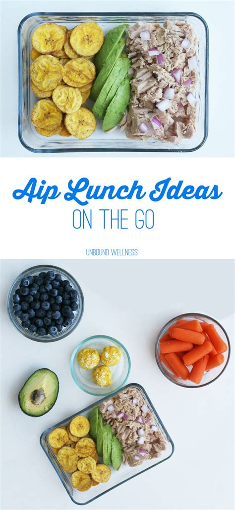 Easy AIP Lunch Ideas On The Go - Unbound Wellness