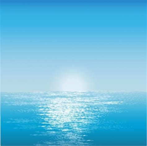 Vector Water Surface Background Vector Art - Ai, Svg, Eps