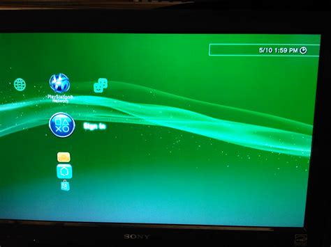 PS3 owner receives firmware update notification while PSN