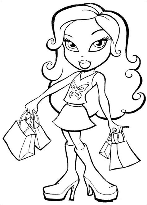 Bratz Coloring Pages | Learn To Coloring
