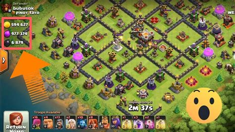 Highest loot coc - YouTube