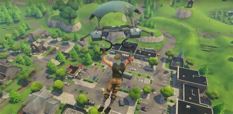 Fortnite: Battle Royale - Chest Map / Loot Map (PC, PS4
