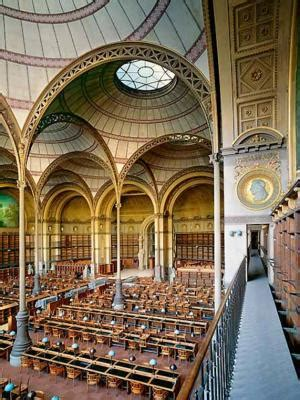 The National Library of France - Richelieu Site - Tourism