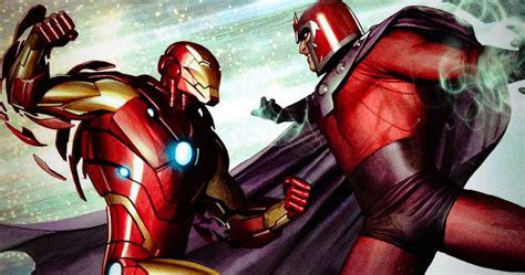 Can Magneto Defeat Iron Man? Here's How He'd Win | TheThings