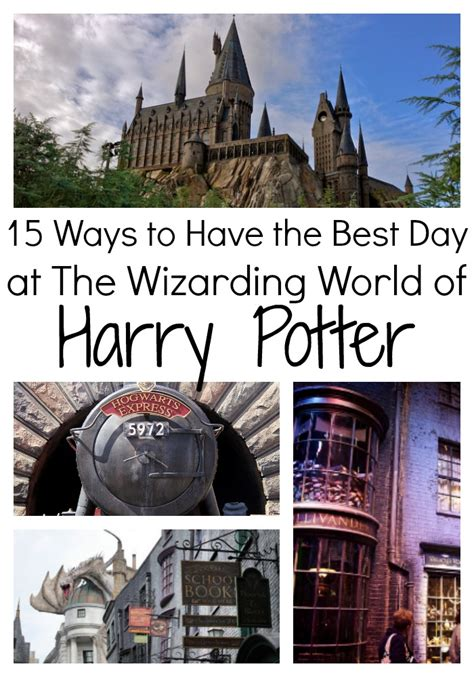How to Have the Best Day at the Wizarding World of Harry