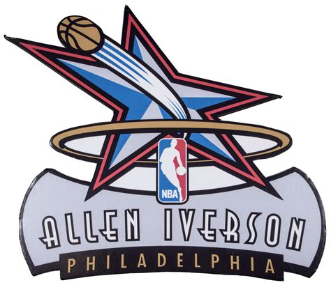 Lot Detail - Lot of (3) Allen Iverson Large Signs and
